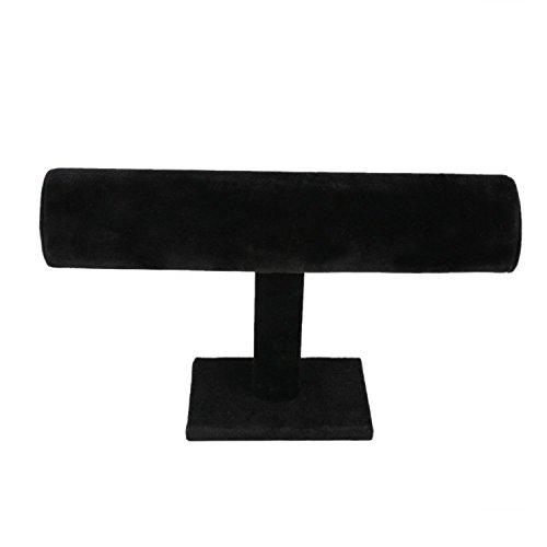 Meshela Neu Schmuckständer Schmuckhalter Armbandständer und Uhrenausstellungsstand - Schwarz