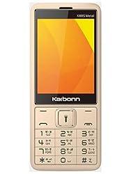 Karbonn K885 Metal Dual SIM Basic Phone (Metal Champ)