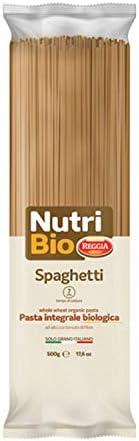 REGGIA Nutri Bio Spaghetti Whole Wheat Organic Pasta, 500 gm