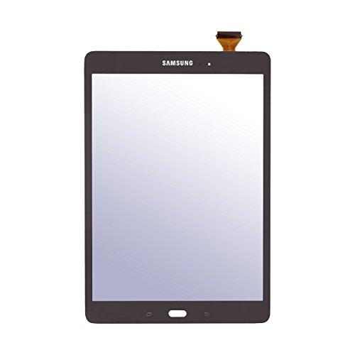 Frontglas Display Touchscreen Ersatzglas mit Digitizer für Samsung Galaxy Tab A T550 T555 (9,7 Zoll) Schwarz