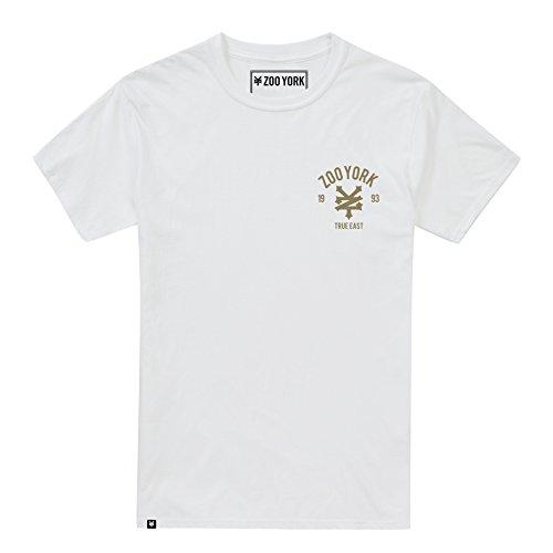 Zoo York Herren T-Shirt Skull City Weiß