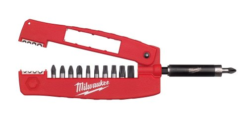 Milwaukee 4932352941 Shock Wave Drive Guide Bit-Set, 12-teilig -