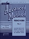 Rubank Advanced metodo – corno francese in Fa o MI bemolle, Vol. 1