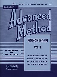 Rubank advanced metodo-corno francese in fa o mi bemolle, vol. 1