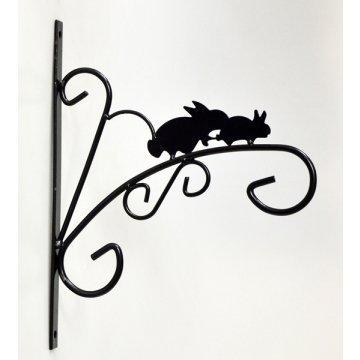 Animali Selvatici da appendere staffa da parete per garage e giardino supporto Coniglio