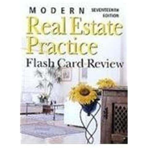 Modern Real Estate Practice Flashcards by Fillmore Galaty (2006-06-15)