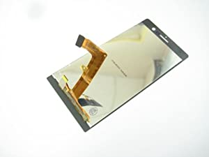 Weiß Full LCD Display + Touch Screen Digitizer für Huawei Ascend P7