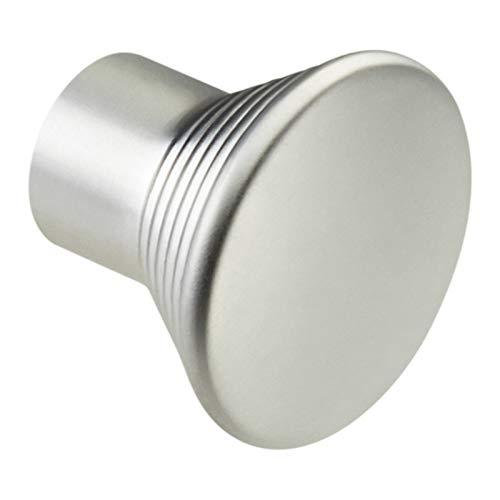 1 x SO-TECH® K-04 Möbelgriff Möbelknopf Möbelknauf Chrom matt Ø 24 mm -
