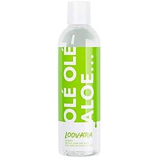 Loovara Olé Olé Aloe - Gleitgel mit Aloe Vera | für sensible Haut | ph-optimiert, dermatologisch getestet | nur natürliche Inhaltsstoffe | auf Wasserbasis, pflegt und schützt die weibliche Intimflora