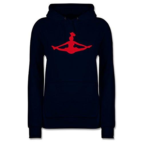 Shirtracer Tanzsport - Cheerleading - M - Navy Blau - JH001F - Damen Hoodie