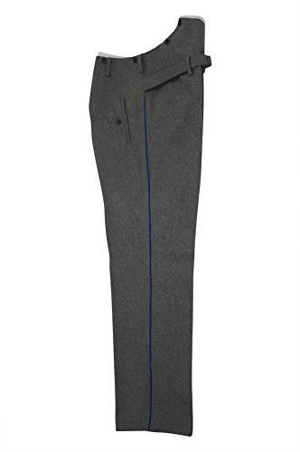 militaryharbor WW2 WWII German Heer Officer Medical Waffenrock Stone Grey Wool Dress Pants - Grau - 36 - Us Fallschirmjäger Kostüm