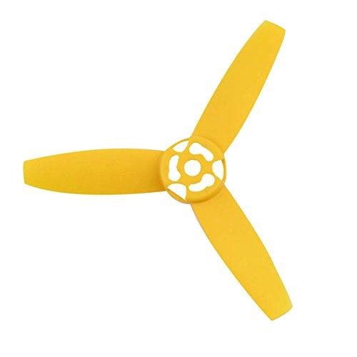 3 Feuilles Pales Du Rotor Hélice Pour Perroquet Bebop Drone 3.0 Jaune + Rouge