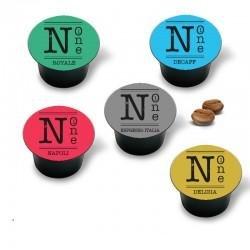 300 Compatibili Nespresso®* 100 Napoli 100 Espresso 100 Delizia Nerone Caffè
