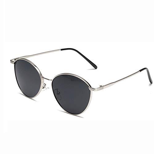 Unisex polarisierte Sonnenbrille Frauen Männer Retro Marke Sonnenbrillen-Outdoor männlich oder weiblich oder Fahren Männer Und Frauen Reisen Im Freien (Farbe : Black2, Größe : Casual Size)