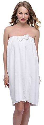 Funray - Paréo - Femme - blanc - taille unique