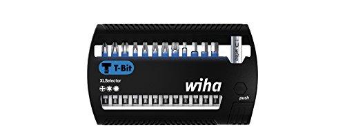 Wiha Bits, XLSelector T-Bit; PH/Torx/Sechskant, 50 mm, für das Verschrauben von Schrauben in T-Form