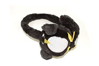 Adjustable Adorable Childrens Fluffy Penguin Ear Muffs.Great Winter Gift