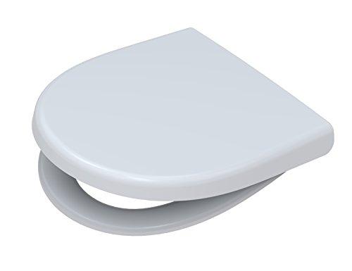 Toto 791880402 WC-Sitz Kadett 300 S mit Deckel Absenkautomatik, weiß