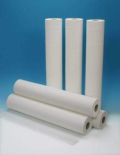 Rollliege Papier H 60 x 75 m Medizin-Bettwäsche 2-lagig geklebt 1 Rolle