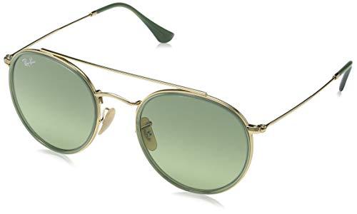 Ray-Ban Unisex-Erwachsene RB3647N-91224M Sonnenbrille, Gold (Dorado), 51
