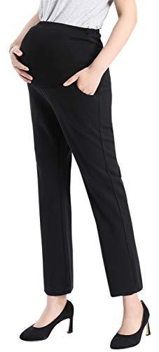 ds-Kleid, Bootcut-Stretch, Hose, Arbeit, Büro, Over-Bump Capris - schwarz - X-Klein ()