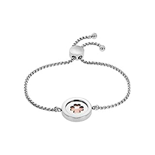 GMK Collection by CHRIST Damen-Armband GMK Collection Edelstahl 1 Perlmutt One Size, silber