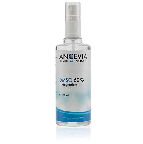 ANCEVIA® DMSO 60 mit Magnesium 100ml - Dimethylsulfoxid + Magnesiumchlorid - als Spray - DMSO mit 99,9% Reinheit Ph. Eur -