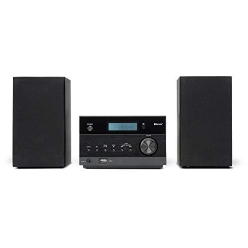 MEDION P64122 Kompaktanlage mit CD (Stereoanlage, Bluetooth, MP3, USB, UKW Radio, 2 x 50 Watt)