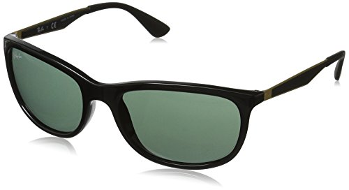 Ray-Ban UV Protected Square Men's Sunglasses - (0RB426762277159|58|Green Color)