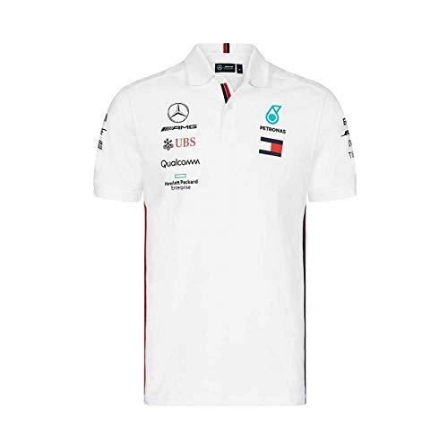 017e6eaa3 Mercedes AMG Petronas Motorsport 2019 F1™ Mens Polo Shirt White XL