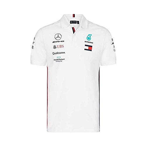 03f7df325d8 Mercedes AMG Petronas Motorsport 2019 F1™ Mens Polo Shirt White XXL