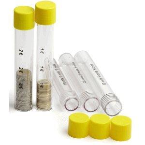Inkiess Sichtbox 50 Euro-Cent transparent/gelb
