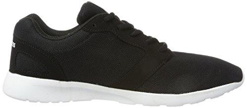 KangaROOS Damen Nihu Sneaker Schwarz (Jet Black/White)