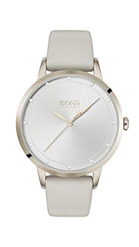 Hugo Boss Womens Analogue Classic Quartz Watch with Leather Strap 1502461