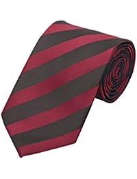 Krawatte von Fabio Farini in schwarz rot