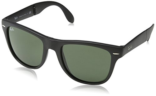 Ray-Ban-Folding-Wayfarer-Sunglasses-in-Mint-and-Black-RB4105-602119-54-RB4105-602119-54