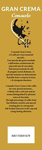 Italian Coffee in Whole Beans Consuelo Gran Crema