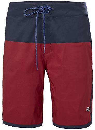 Helly Hansen Solen Classic - Pantalones Cortos para Hombre, Hombre, 62954, Oxblood, XX-Large
