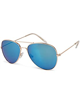 styleBREAKER gafas de aviador para niños con montura de metal-acero fino, gafas de sol 09020059