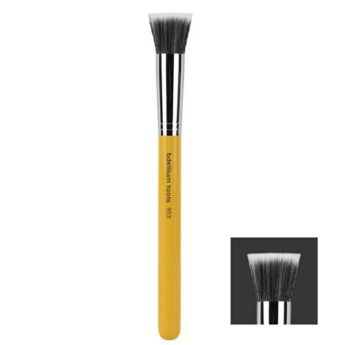Bdellium Tools Professional Antibacterial Makeup Brosse Studio Line Duet Fibre Fond de teint