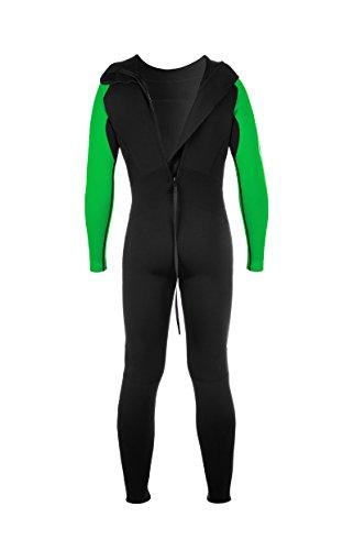 Active Full Long Sleeve Neoprenanzug, grün/schwarz - 4