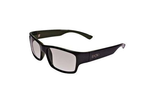 EX3D Eyewear EX3D5003/010 3D Brille, schwarz/grün