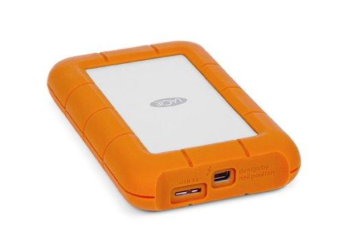LaCie 9000299 Rugged Thunderbolt externe Festplatte 2TB USB 3.0