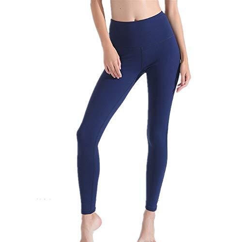 Pantaloni Yoga per il controllo della pancia Pantaloni da yoga elasticizzati a vita alta senza pantaloni lunghi extra da donna per allenamento palestra in esecuzione atletica sport pantaloni dimagrant