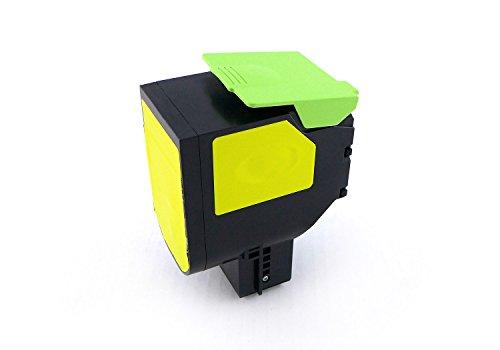 Preisvergleich Produktbild Green2Print Toner Gelb, ersetzt Lexmark 80C20Y0, 802Y, 80C20YE, 802YE, 1000 Seiten, Passend für Lexmark CX310N, CX310DN, CX410DE, CX410DTE, CX410E, CX510DE, CX510DHE, CX510DTHE