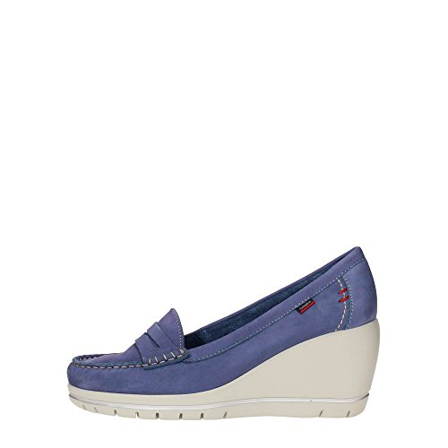 CallagHan 82300 Mocassino Donna Pelle Nube Nube 40
