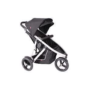 Phil & Teds Vibe Black & Black Tutti Bambini SIMPLE ONE HANDED FOLD - Easily and quickly folded with one hand making life simpler whilst you're with your child. LIGHTWEIGHT STURDY - Compact strong frame that is free standing once folded up.