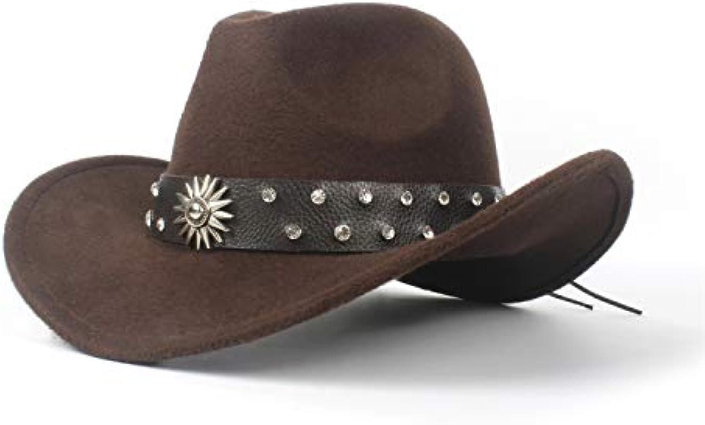 ZLFZZZ Cappello da Cowboy Occidentale delle degli Donne degli delle Uomini  di Modo per Il Cappello da Cowboy del Diamante... Parent faebcd a0415234b5a7