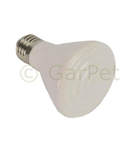 Wärmelampe Keramik Heiz Lampe Dunkelstrahler Keramik Infrarot Strahler E27 (150 Watt) -