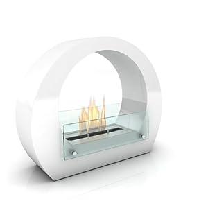 Imagin Bioethanol Fireplace - Boston White